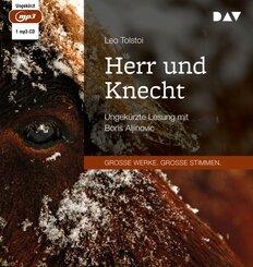 Herr und Knecht, 1 Audio-CD,