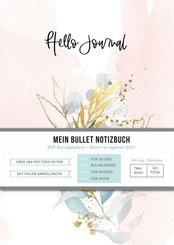 Hello Journal - Happy Flowers