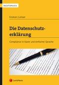 Die Datenschutzerklärung