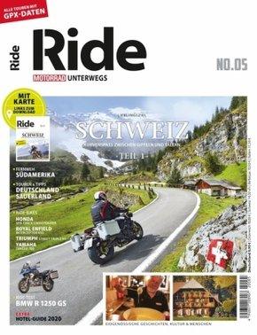 RIDE - Motorrad unterwegs, No. 5; . - No.5