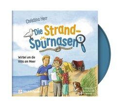 Die Strandspürnasen - Wirbel um die Villa am Meer, 1 Audio-CD, MP3
