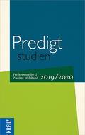 Predigtstudien 2019/2020 - 2. Halbband
