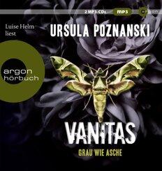 Vanitas - Grau wie Asche, 2 Audio-CD, MP3
