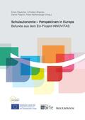 Schulautonomie - Perspektiven in Europa
