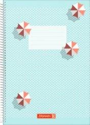 Brunnen Spiralbuch A4 Unliniert, Colours of Holiday