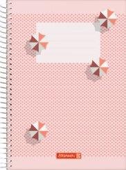 Brunnen Spiralbuch A5 Unliniert, Colours of Holiday
