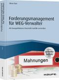 Forderungsmanagement für WEG-Verwalter - inkl. Arbeitshilfen online