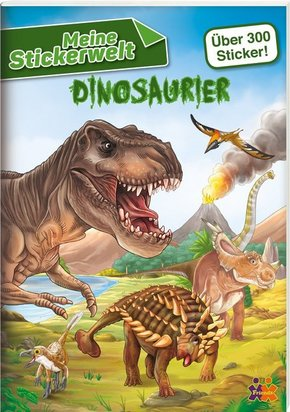 Meine Stickerwelt - Dinosaurier