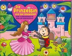 Die Prinzessin und das Wiesenfest - Mein märchenhaftes Pop-up Buch