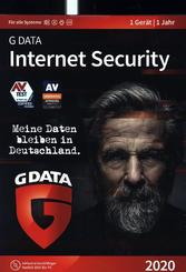 G-Data Internet Security 2020, 1 PC, 1 CD-ROM