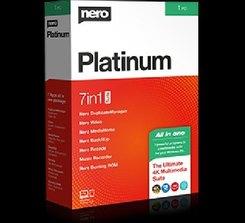 Nero Platinum 365, 1 CD-ROM