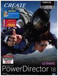 CyberLink PowerDirector 18 Ultimate, 1 DVD-ROM