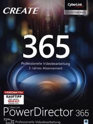 CyberLink PowerDirector 365 / 12 Monate, 1 DVD-ROM