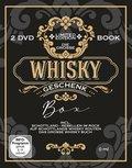 Die große Whisky-Geschenk-Box, 2 Bände + 2 DVDs