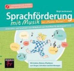 """Sprachförderung mit Musik zu """"Paulas Reisen"""", CD Extra"""
