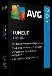 AVG TuneUp, 1 PC, 1 Jahr, 1 DVD-ROM