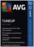 AVG TuneUp, 10 Geräte, 1 Jahr, 1 DVD-ROM