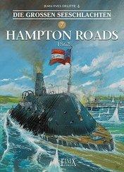 Die Großen Seeschlachten - Hampton Roads 1862