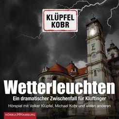 Wetterleuchten. Ein dramatischer Zwischenfall für Kluftinger, 2 Audio-CD