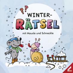 Winter-Rätsel mit Mausle und Schneckle