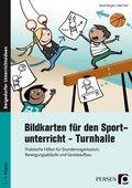 Bildkarten für den Sportunterricht - Turnhalle
