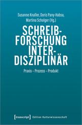 Schreibforschung interdisziplinär