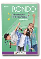 Rondo, Musiklehrgang für die Grundschule, Neubearbeitung: RONDO - Das Liederbuch für die Grundschule, 4 Audio-CD