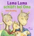 Lama Lama schläft bei Oma