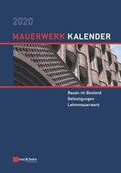 Mauerwerk-Kalender: Mauerwerk-Kalender 2020