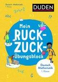 Mein Ruckzuck-Übungsblock Deutsch/Mathematik 1. Klasse