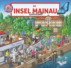 Die Insel Mainau wimmelt