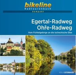 bikeline Radtourenbuch kompakt Egertal-Radweg - Ohre-Radweg