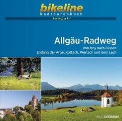 bikeline Radtourenbuch kompakt Allgäu-Radweg