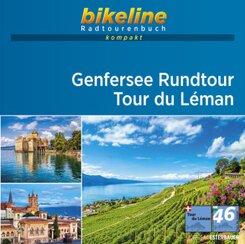 bikeline Radtourenbuch kompakt Genfersee Rundtour - Tour de Leman