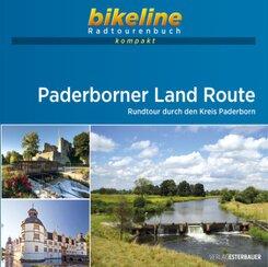 bikeline Radtourenbuch kompakt Paderborner Land Route