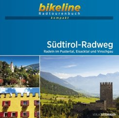 bikeline Radtourenbuch kompakt Südtirol-Radweg