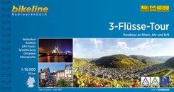 Bikeline Radtourenbuch 3-Flüsse-Tour