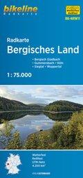Bikeline Radkarte Bergisches Land
