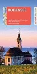 GO VISTA: Reiseführer Bodensee, m. 1 Karte