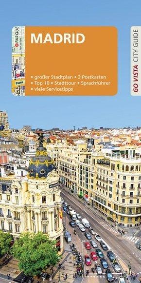 GO VISTA: Reiseführer Madrid, m. 1 Karte
