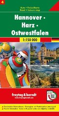 Hannover - Harz - Ostwestfalen, Autokarte 1:150.000, Blatt 4