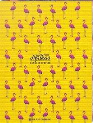 Die Tiere Afrikas Geschenkpapier-Heft - Motiv Flamingo