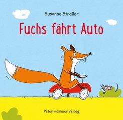 Fuchs fährt Auto