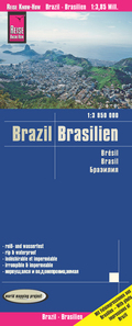 Reise Know-How Landkarte Brasilien / Brazil (1:3.850.000)