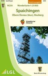 W250 Spaichingen - Obere Donau (West), Heuberg