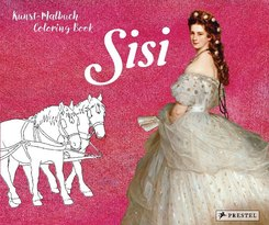 Kunst-Malbuch - Coloring Book Sisi