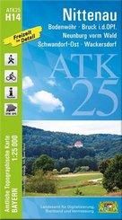 ATK25-H14 Nittenau (Amtliche Topographische Karte 1:25000)