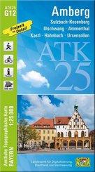 ATK25-G12 Amberg (Amtliche Topographische Karte 1:25000)