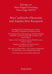 Marx' politische Ökonomie und Aspekte ihrer Rezeption
