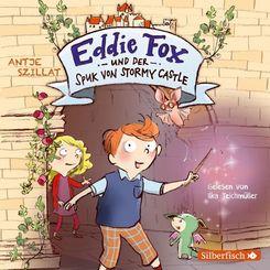 Eddie Fox und der Spuk von Stormy Castle, 2 Audio-CD